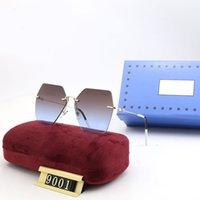 Lunettes de soleil Polarisée Polarized Polarized Mens Sunglasses Design UV 400 ADUMBRAL Brand Verres Sun Lunettes de mode avec miroir DQ 21031803DQ