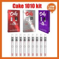 Cake D8 1010 Battery Kit de batterie 1.5ml rechargeable Vape Vape Cigarettes avec atomiseur vide Atomizer épais Cartouches de boîtes à huile et boîtes-cadeaux 10 taches