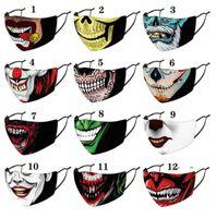 Fashion Cloth Face Mask With Filter Pocket Washable Adjustable Fabric Masks Reusable Balaclava For Men Women FWB10241