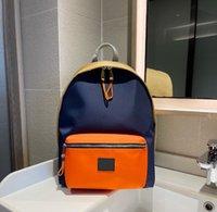 Mochila de designer masculino e feminino Moda com letra padrão grande capacidade estudante escola mochilas de alta qualidade