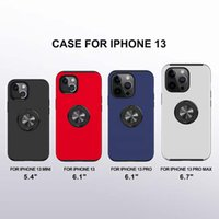 Armor Cases Cover 2in1 TPU Hard PC Back Shockproof With Car Magnetic Ring for iPhone13 12 mini pro max 11 XR XS 8 Samsung S20 S10 note20 Ultra plus A11 A21 M20 LG MOTO