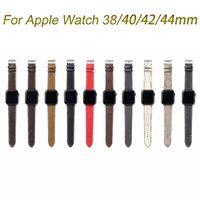 الأشرطة الذكية مصمم watchbands الفرقة 42 ملليمتر 38 ملليمتر 40 ملليمتر 44 ملليمتر iwatch 2 3 4 5 العصابات الجلود حزام سوار الأزياء المشارب watchband ل أبل وا