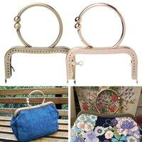 Storage Bags 1PC Vintage Metal Purse Bag Frame Kiss Clasp Lock With Handle 12.5cm Ju15 21 Drop