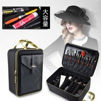 Large Cosmetic Bag Multi-layer Capacity Professional Portable And Makeup Storage Nail Art Tattoo Make Up Tool Box Bags & Cases