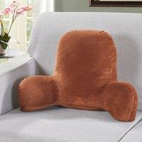 37 sofá almofada de volta cama de travesseiro pelúcia grande encosto lendo descanso descanso almofada lombar cadeira almofada com braços decoração de casa 201009 346 R2