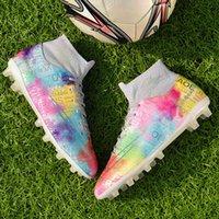 47 كبير 46 جديد أعلى أحذية كرة القدم أحذية كرة القدم والنساء مكسورة مسطحة أسفل طويل الأظافر طالب تدريب الرياضة أورغو