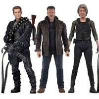 Neca Terminator Abbildung 2 Urteiltag T-800 Sarah Connor Arnold Schwarzeer Action Figuren Sammeln Modell Spielzeug