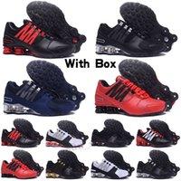 Shox DELIVER Avenue 802 Arrivi Uomini Avenue 802 Turb Black Bianco Bianco Rosso Man Tennis Running Scarpa Mens Sport Sport Sneakers Dimensioni 36-45