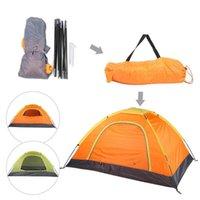 Diez al aire libre Portátil Anti-Mosquito 1-2 Personas Accesorio de Tienda para Escalar Camping Beach Senderismo Tiendas de alojamiento y refugios