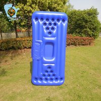 Inflatable Floats & Tubes Swimming Float Pool Toys 24-hole Beer Pong Table With Cooler Mattress