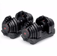 Drop 35LBS Herrenhaus Indoor Sport Fitness Multiple Gewicht Einstellbare Hantel-Gym-Equipmen 40kgs Dumbbells