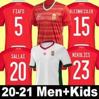 2021 Hongrie Soccer Jersey Men Kids Szoboszlai Priskin 21 22 Accueil Vinicius Orban Dzsudzsak Nagy Shirt National TeamFootball Uniforme