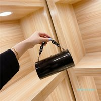 jewelry bag well known design cylindrical handbag chain handle decoration dinner party