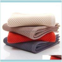 Textiles & Gardengeometric Towels Set Soft Bath Thick Cotton Shower Bathroom Home Spa Honeycomb Face Towel For Adults Serviette Handtuch1 Dr
