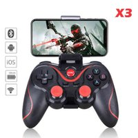 Gamepad X3 Wireless Bluetooth Joystick PC Android IOS Controller BT4.0 Pad For Mobile Phone Tablet TV Box Holder