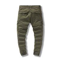 Pantalon de chargement pour hommes élastiques multiples poche respirant pantalon masculin décontracté classique extérieure 29-38 taille pantalons hommes
