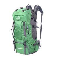 60l التخييم في الهواء الطلق السفر حقيبة الظهر تسلق الجبال حقيبة المشي لمسافات طويلة