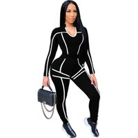 Simple Pure Color O Nekc Long Sleeve Crop Top And Leggings 2 Pieces Set Sexy Tight Club Party Lady Fashion Tracksuits Women's