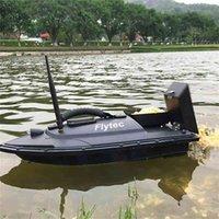 Flytec 2011-5 Fish Finder 1.5kg Cargando 500m Control remoto Pesca Bait Boat RC Boat for Pesca Amantes y pescadores 210323