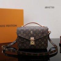 2021 Luxurys Designer Taschen Crossbody Frauen Handtasche Messenger Bags Oxidation Leder Metis Elegante Umhängetaschen Crossbody Bag Shopping Tote