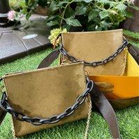 2021 Bolsas de Moda Marca Cross Body Chain Bags bolsas de desenhista mulheres mensageiro bolsa de ombro pequeno flaps com flores impressas l21072201