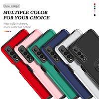 Shockproof Rugged Armor Phone Cases For LG K51S K41S Stylo 7 4G 5G Aristo 6 K52 K53 Bracket Ring Back Cover