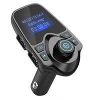 T11 LCD Bluetooth Hands-free Car Auto Kit A2DP 5V 2.1A USB Charger FM Transmitter Wireless Modulator Audio Music Player With Package