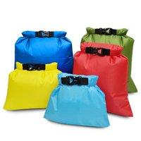 Duffel Bags 5 Pcs Set Waterproof Dry Bag Outdoor Beach Buckled Storage Sack Travel Drifting Swimming Snorkeling Accessories