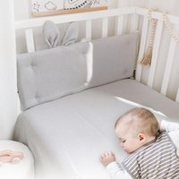 Bedding Sets Baby Bed Bumpers Cotton Waffle Ear Infant Born Protection Cushion Sleepping Pillows In The Crib Fence