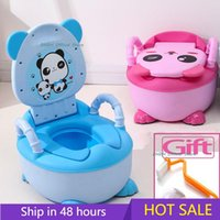 0-6 Years Old Children's Pot Soft Baby Potty Plastic Road Pot Infant Cute Baby Toilet Seat Boys And Girls Potty Trainer Seat WC