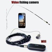 Cameras HD 1080P Wifi Wireless Video Fish Finder Kamerasystem 140 Grad Linse Unterwasser 8 stücke IR LED Infrarotlampe Nocken des Fischens