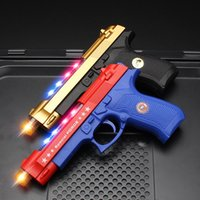 Pistola elettrica per bambini Pistola Sound Light Simulazione Boy Pistol Night Market Stallest Prodotti