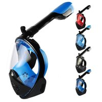 Diving Masks Plug-in Full Face Mask Anti-fog Snorkeling Children Adult Underwater Scuba Spearfishing For Camera
