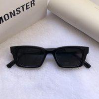 2021 New Korean Jennie Cooperation GM Sunglasses Jentle Home Fashion Women Rectangle Sunglasses Lady Small Frame Glasses 1996