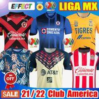 Club America Jerseys Nuevo 20 21 Camisetas de fútbol del Club América 2020 2021 Camiseta del Club de México Tigres Guadalajara Chivas kit