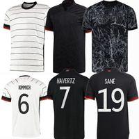 2021 2022 Deutschland Fussball Trikots Neuer Goretzka Hummels Vollland Kimmich Müller Ganbry Brandt Havertz Werner Kroos Sane 21 22 Fußballmänner Frauen Kinderhemd