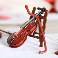 DHL 키보드 피아노 미니어처 세계 바이올린 장면 모델 슈팅 소품
