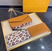 Kabartmalı Çiçek Çanta Felicie Debriyaj Kadın Çanta Corss Vücut Kartı Tutucu Moda Zincir Çanta Bayan Omuz Çantası Mini Paketi Messenger Çanta Kadın Leopar