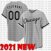 Top Yoan Moncada Chicago Eloy Jimenez Branco Tim Anderson Jersey Bo Jackson Carlton Fisk Frank Thomas 2021 personalizado jerseys de beisebol Qualquer nome 999