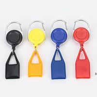Accesorios para fumar Color colorido Encendedor Funda protectora Clave correa portátil Cuerda telescópica Cáscara para cigarrillo Tubo de humo DHB6855