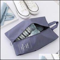 تخزين المنظمة Housekee Home GardenStorage أكياس هت حذاء للسفر حقيبة التشطيب حقيبة الأحذية طوي الجوارب داخلية
