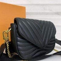 2021 M56461 M56466 جديد موجة متعددة pochette حقائب اليد حقيبة الأزياء crossbody الكلاسيكية قطعتين مجموعات حقائب اليد سلسلة المحافظ المصممين الكمال بيع