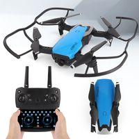 K98 Pro 2 Katlanır Mini Drones İHA Yüksek Çözünürlüklü Hava Uzaktan Kumanda Uçak Drone 4 K Çift Kamera