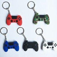 Game Keychain Fidget Toy Cute Gamepad Boyfriend Joystick Keychains Console Shape Key Chains Bag Hanging Ring
