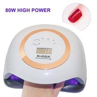 Светодиодная лампа сушилки для ногтей 42 светодиодов УФ-лед для сушки гель-лампочка Может одним ключом к установлению временных сушилок