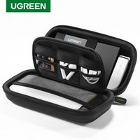 Power Bank Case Hard Case Box for 2.5 Hard Drive Disk USB Cable External Storage Carrying SSD HDD Case