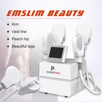 4 Handles Slimming Machine Body Sculpting Emslim Butt Lifter Fat Removal Electromagnetic Muscle Stimulation Slim Beauty Device