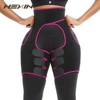 Hexin Neoprene 허벅지 셰이퍼 땀 허벅지 트리머 다리 셰이퍼 무게 슬리밍 벨트 엉덩이 리프터 압축 벨트