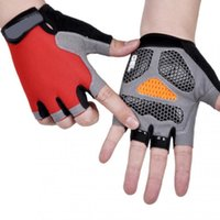 Cycling Gloves Silicone Bike Half Finger Shockproof Wear Resistant Breathable MTB Road Bicycle Equipment
