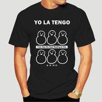 Erkek tee nadir !!!! VTG 90 S YO LA TENGO PAVEM MENS T-shirt ABD Özel Baskılı Tee Gömlek Çocuk Giyim